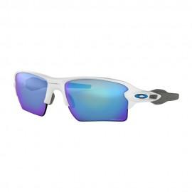 Oakley Occhiali Sci Flak 2.0 Xl Pol Prizm Sapphire Bianco