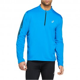 Asics Maglia Running Hzip Icon Winter Performance Blu Uomo