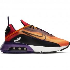Nike Sneakers Air Max 2090 Arancio Nero Uomo