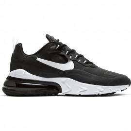 Nike Sneakers Air Max 270 React Nero Bianco Uomo