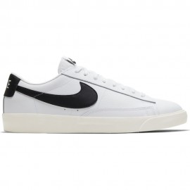 Nike Sneakers Blazer Low Lea Bianco Blu Donna