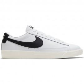 Nike Sneakers Blazer Low Lea Bianco Nero Uomo