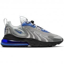 Nike Sneakers Air Max 270 React Eng Grigio Blu Uomo