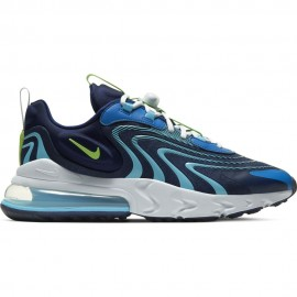 Nike Sneakers Air Max 270 React Eng Blu Verde Uomo