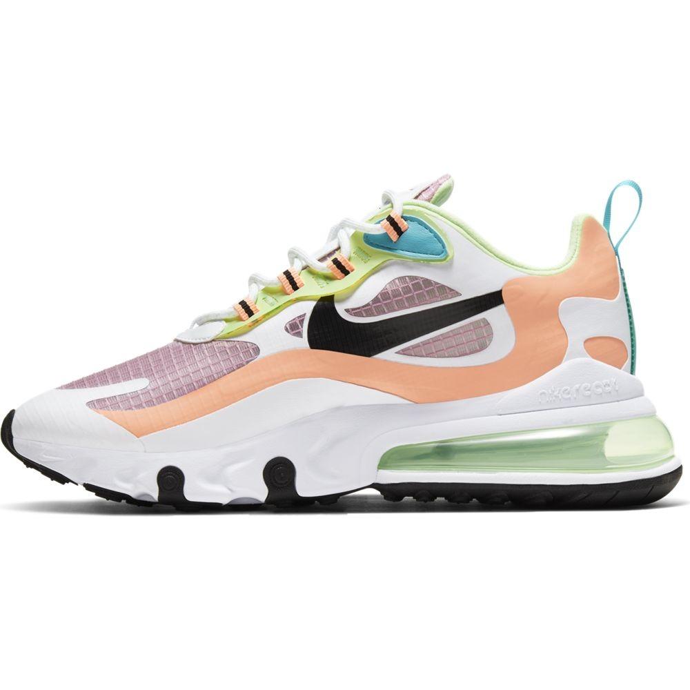 Nike Sneakers Air Max 270 React Se Rosa Nero Donna - Acquista ...