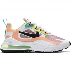 Nike Sneakers Air Max 270 React Se Rosa Nero Donna