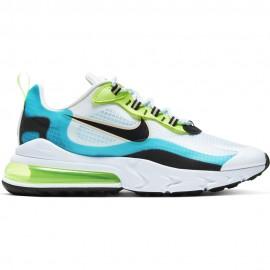 Nike Sneakers Air Max 270 React Se Azzurro Grigio Uomo