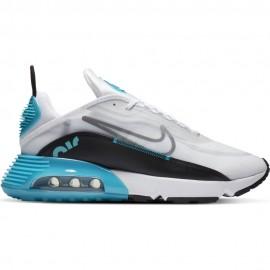 Nike Sneakers Air Max 2090 Bianco Nero Azzurro Uomo
