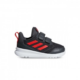 Adidas Sneakers Altarun Cf I Td Nero Rosso Bambino