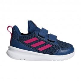 Adidas Sneakers Altarun Cf I Td Blu Fucsia Bambina