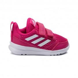 Adidas Sneakers Altarun Cf Td Fucsia Bianco Bambina