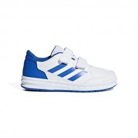 Adidas Sneakers Altasport Cf Ps Bianco Blu Bambino