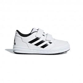 Adidas Sneakers Altasport Cf Gs/Ps Bianco Nero Bambino