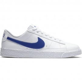 Nike Sneakers Blazer Low Gs Bianco Blu Bambino