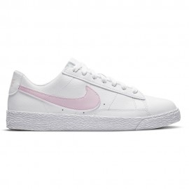 Nike Sneakers Blazer Low Gs Bianco Rosa Bambina