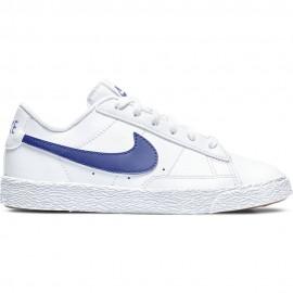 Nike Sneakers Blazer Low Ps Bianco Blu Bambino