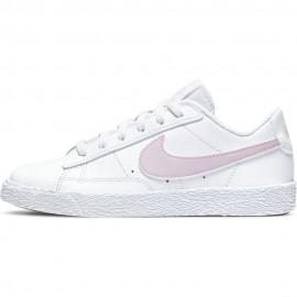 Nike Sneakers Blazer Low Ps Bianco Rosa Bambina