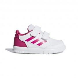 ADIDAS sneakers altasport cf td bianco fucsia bambina