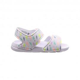 ADIDAS sandali altaswim i bianco multicolore bambino