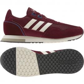 ADIDAS sneakers 8k 2020 bordeaux bianco uomo