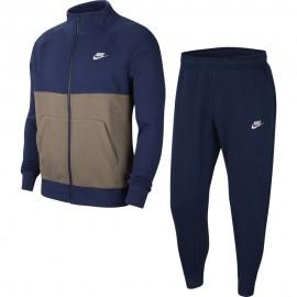 Nike Tuta Sportiva Swoosh Blu Uomo