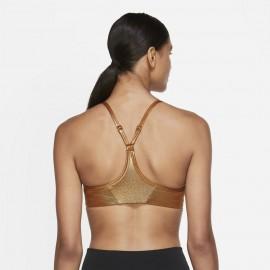 Nike Reggiseno Sportivo Shimmer Oro Donna