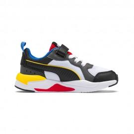 Puma Sneakers X-Ray Ac Ps Bianco Nero Bambino
