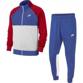 Nike Tuta Sportiva Swoosh Rosso Uomo
