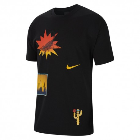 Nike Maglia Basket Mm Nrg Phx Nero Giallo Uomo