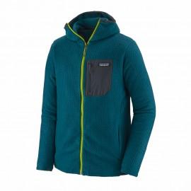 Patagonia Pile Montagna R1 Air Full Zip Hoody Blu Uomo