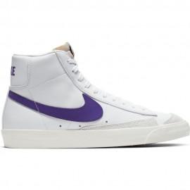 Nike Sneakers Blazer Mid 77 Vntg Bianco Viola Uomo