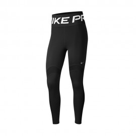 Nike Leggings Sportivi Big Logo Pro Nero Donna