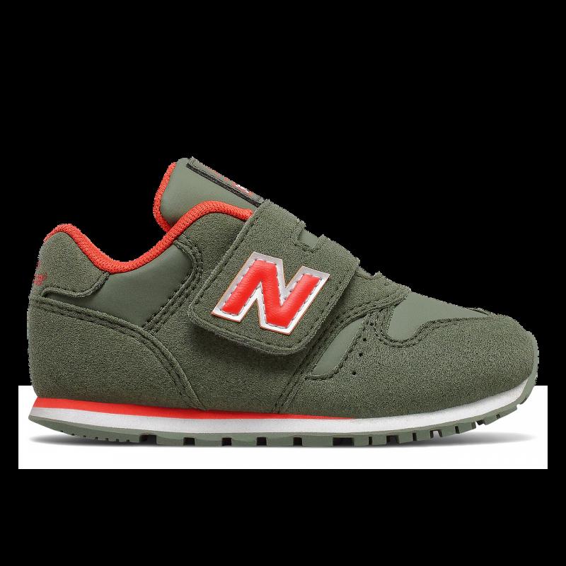 New Balance Sneakers 373 Td Verde Arancio Bambino