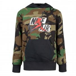 Nike Felpa Con Cappuccio Jordan Army Camouflage Bambino