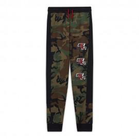 Nike Pantaloni con Polsino Jordan Army Camouflage Bambino