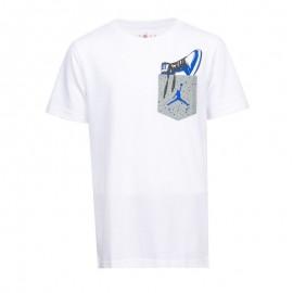 Nike T-Shirt Aj1 Pocket Bianco Bambino