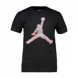 Nike T-Shirt Jordan Nero Bambino
