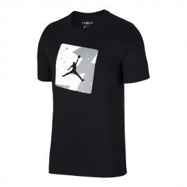 Nike T-Shirt Logo Fantasia Jordan Nero Uomo