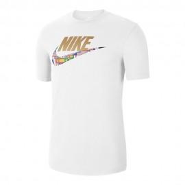 Nike T-Shirt Logo Bianco Uomo