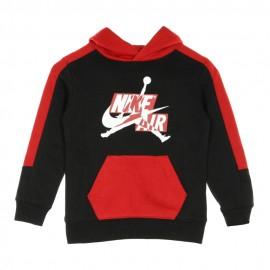 Nike Felpa Con Cappuccio Jordan Nero Bambino