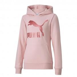 Puma Felpa Rosa Bambina