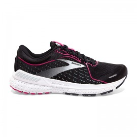 Brooks Scarpe Running Adrenaline Gts 21 Nero Rosa Donna
