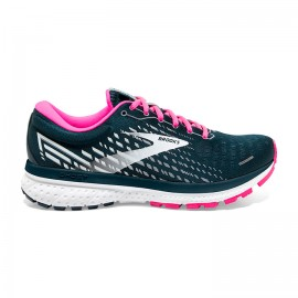 Brooks Scarpe Running Ghost 13 Blu Rosa Donna