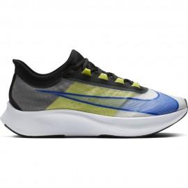 Nike Scarpe Running Zoom Fly 3 Nero Blu Bianco Lime Uomo