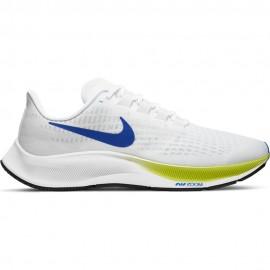 Nike Scarpe Running Air Zoom Pegasus 37 Bianco Lime Blu Uomo
