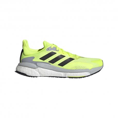 Adidas Scarpe Running Solar Boost 21 Giallo Grigio Nero Uomo