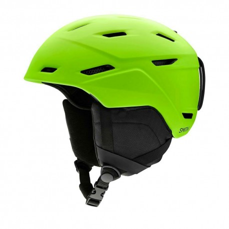 Smith Casco Sci Mission Lime Opaco