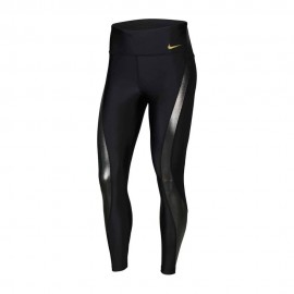 Nike Leggings Running 7/8 Icon Clash Speed Nero Donna