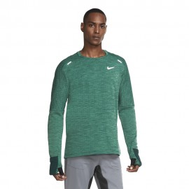 Nike Maglia Running Manica Lunga Sphere Verde Uomo