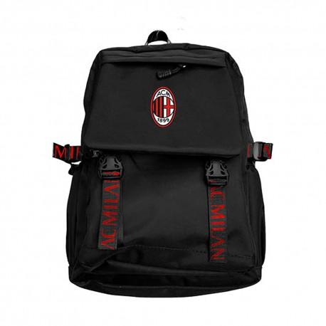 Imma Zaino Calcio Sport Milan Ac Milan Nero Rosso Uomo